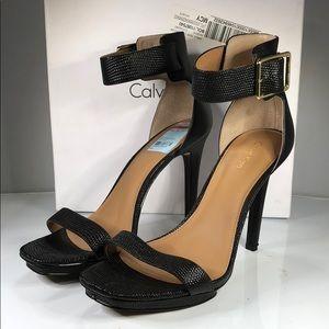 [184] Calvin Klein 8.5 M Women's Vable Sandals